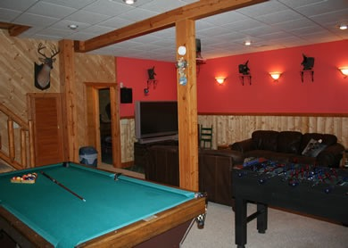 HPL Pool Table Game room rental Dale Hollow