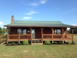 Anglers Cove, Dale Hollow Lake, Tennessee, Log Cabin