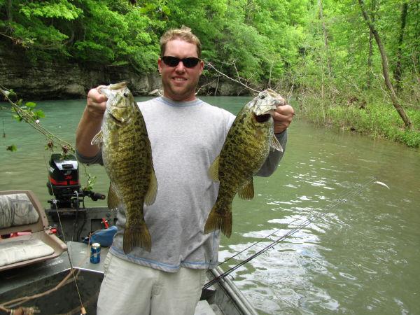 Fishing at Dale Hollow Lake