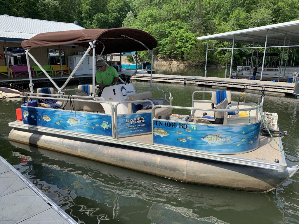 Fishing Boat / Pontoon / Ski Boat Rental - East Port Marina